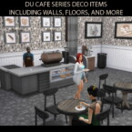 Du Cafe Series Style Decor By Simmiller
