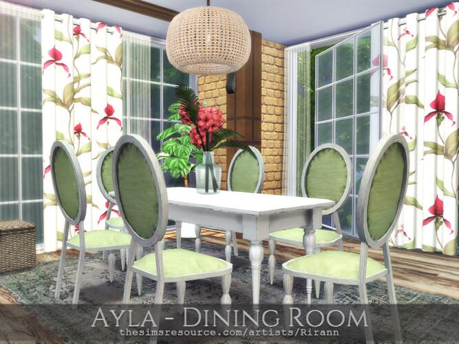 Ayla Dining Room By Rirann