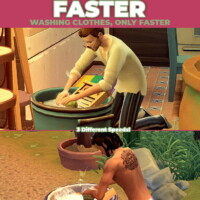 Scrub Faster – Perform Wash Tub Interactions Faster