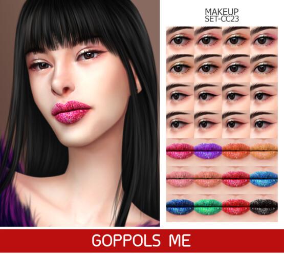 Gpme-gold Makeup Set Cc23