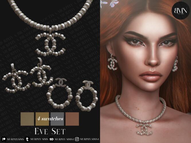 Eve Set: Necklace & Earrings
