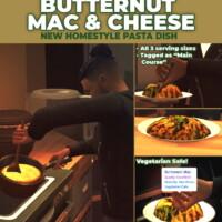 Butternut Mac & Cheese Custom Recipe