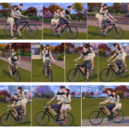 Bicycle Poses