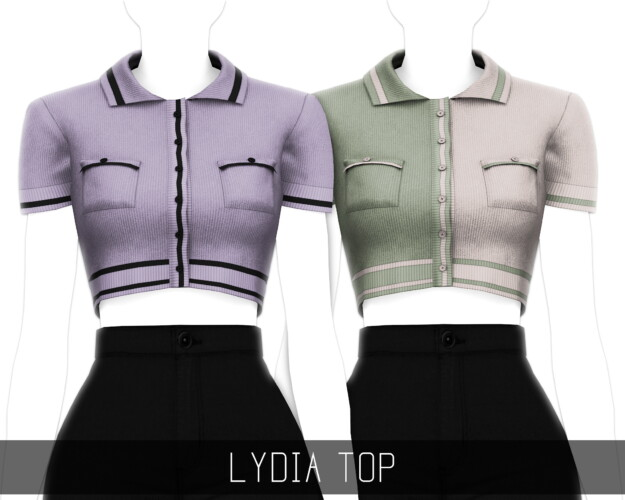 Lydia Short Sleeve Knitted Cardigan Top