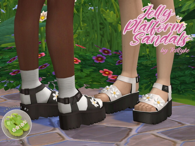 Jelly Platform Sandals