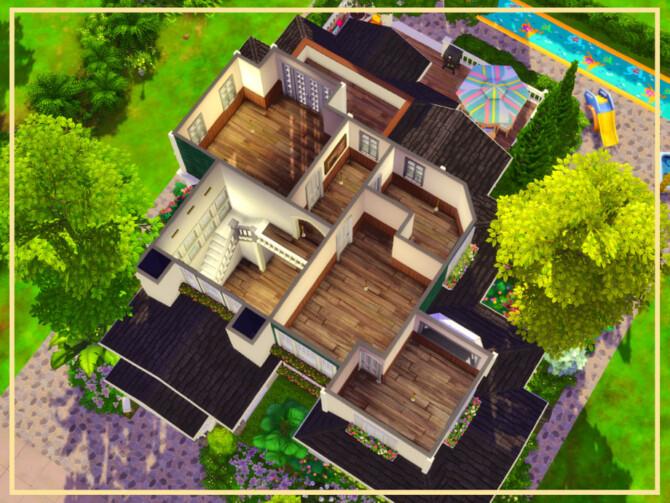 Sims 4 Green Family House by simmer adelaina at TSR