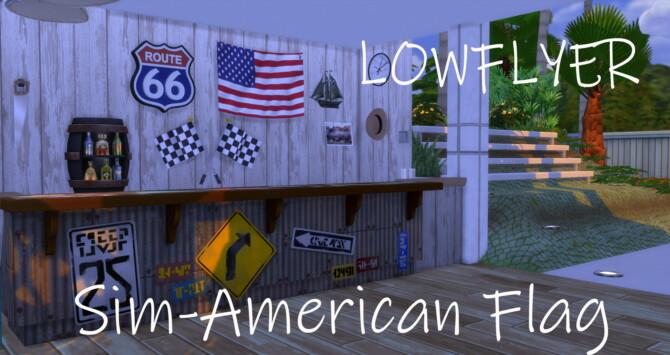 Sim-american Flag By Lowflyer