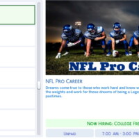 Nfl Pro Career By Simsstories13