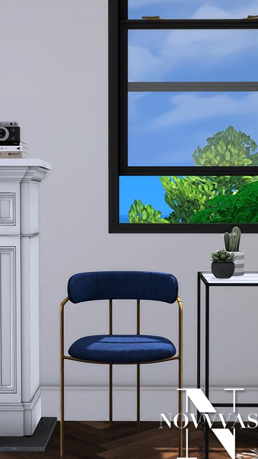 Sims 4 LENOX Chair at Novvvas