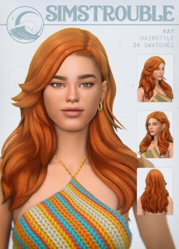 Kay 70's Layered Hair