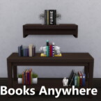 Clutter Anywhere Part Two – Books