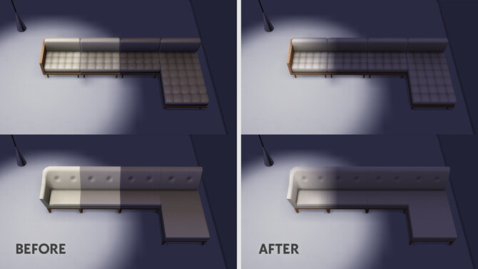 Sectionals Sofas Override Fix For The Light Issue