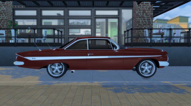 Sims 4 1961 Chevrolet Impala SS at Modern Crafter CC