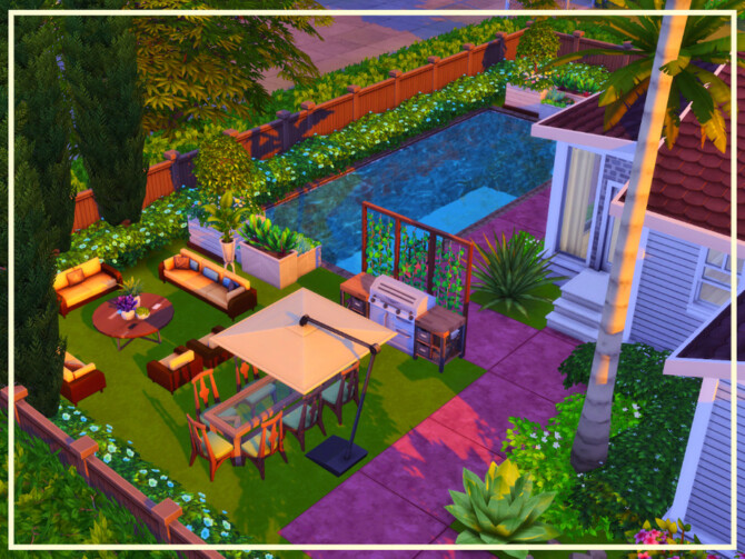 Sims 4 Brand New Bungalow by simmer adelaina at TSR