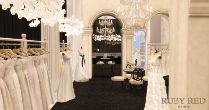 Sims 4 Bridal Shop CC Set at Ruby Red