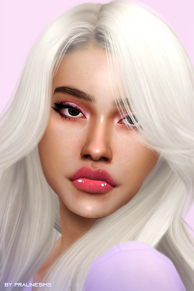 Sims 4 BUTTERFLY Makeup Selection at Praline Sims