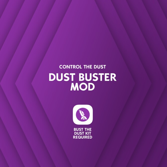 Sims 4 Dust Buster Mod: Control the Dust by lot51 at Mod The Sims 4