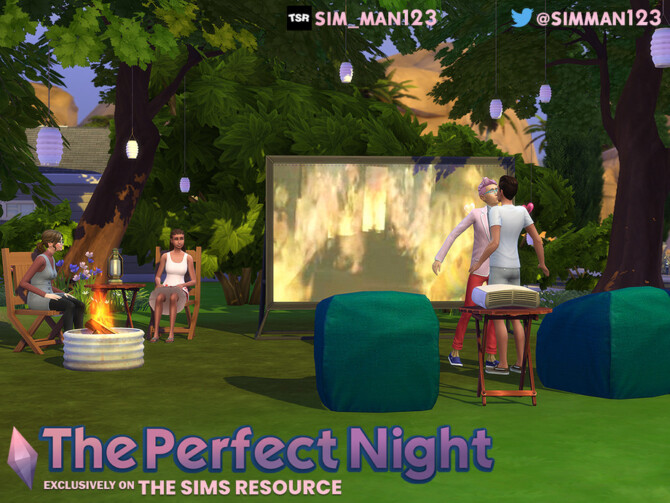 Sims 4 The Perfect Night Subsolar by sim man123 at TSR
