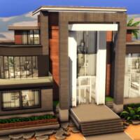 Super Modern Mansion By Plumbobkingdom