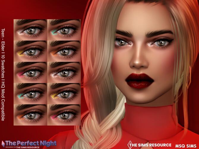 Sims 4 Nightlife Eye Highlighter at MSQ Sims