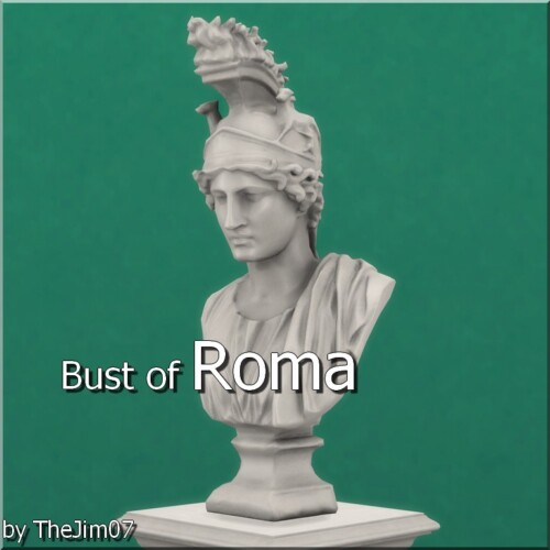 Bust Of Roma By Thejim07