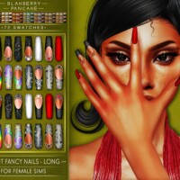 Fancy Nails 4 Versions (f)
