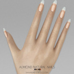 Almond Natural Nails