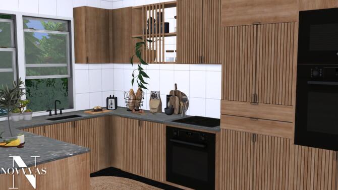 Sims 4 BUENA KITCHEN at Novvvas