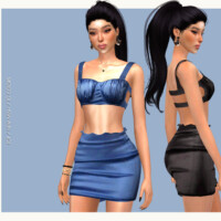 Bustier Set Do124 By D.o.lilac