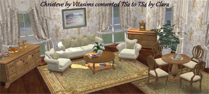 Vitasims2 Christeve Living Conversion By Clara