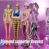 Diamond Supporter Request 2021 Set 01