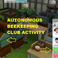 Autonomous Beekeeping Club Interaction By Siriussimmer