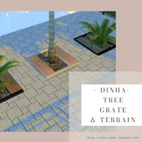 Tree Grate & 6 Terrain Paint