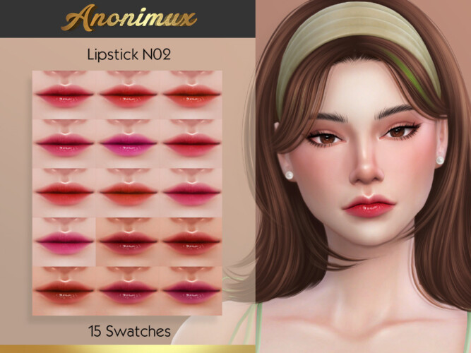 Lipstick N02 By Anonimux Simmer
