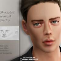 Bill Skarsgard Facemask Overlay