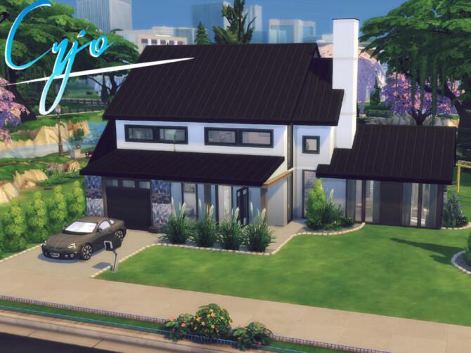 Sims 4 Cujo house by GenkaiHaretsu at TSR
