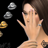 Round Signet Star Thumb Ring By Natalis