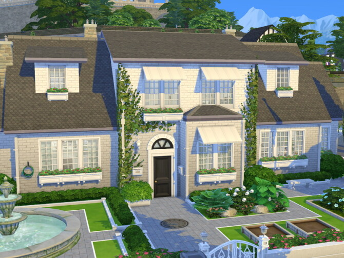 Sims 4 Scientist Townhouse by Flubs79 at TSR