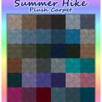 Summer Hike Plush Carpet By Wykkyd