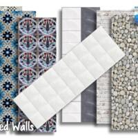 Mixed Walls By Oldbox
