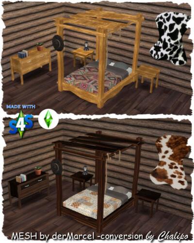 Cowboy Dreams Bedroom By Chalipo