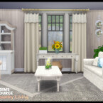 Country Living Room By Seimar8