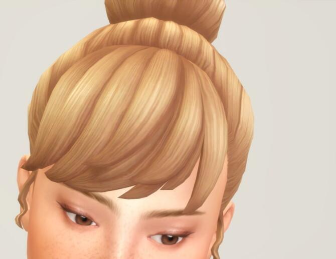 Sims 4 Seashell Wavvve Hair 2 at Rusty Nail