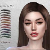 Eyebrows #12 By Coffeemoon