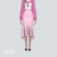 Chiffon Os Midi Skirts V2