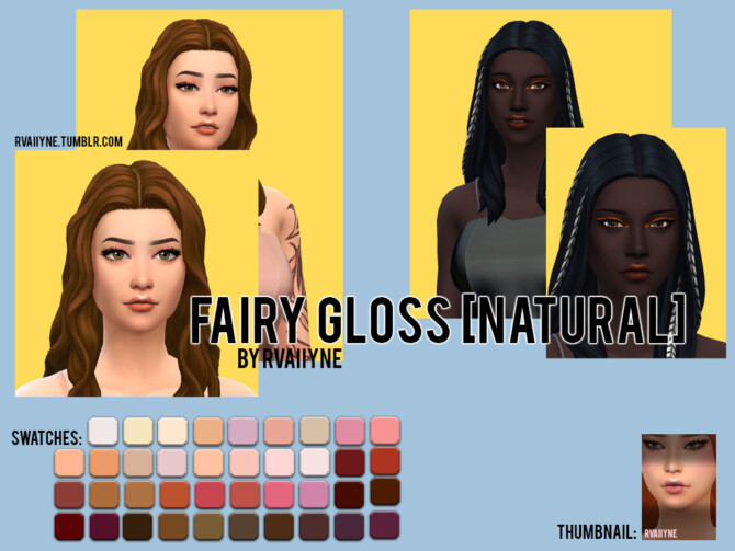 Sims 4 THE FAIRY COLLECTION MAXIS MATCH at Rvaiiyne