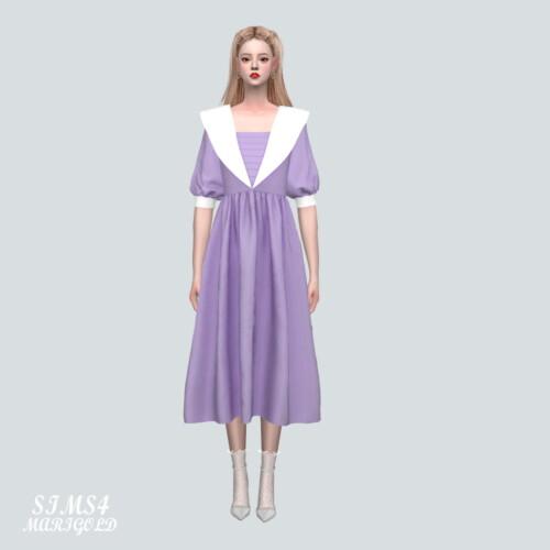 Big C Sailor Long Dress