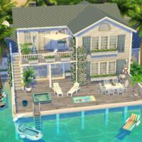 Family Beach House By Flubs79