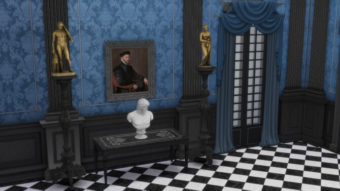 Sims 4 Portrait of Sir Thomas Gresham by TheJim07 at Mod The Sims 4
