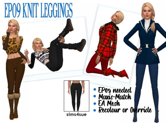 Ep09 Knit Leggings